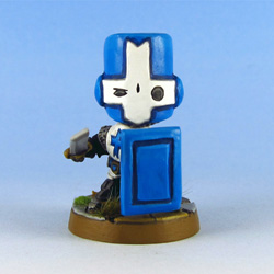 Blue Knight front
