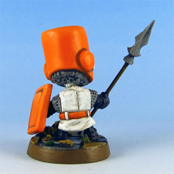 Orange Knight back