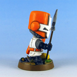 Orange Knight right