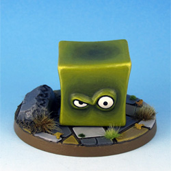 Gelatinous Cube front