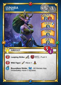 Lunara SDE Card (front)