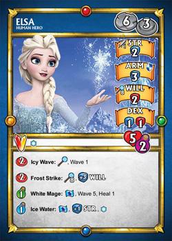 Elsa SDE Card (front)
